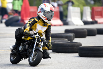 Papiers peints Motorise Pocket Bike Race