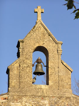 Church steeple & bell
