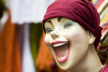 visage mannequin