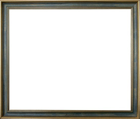 Thin blue frame for your pictures