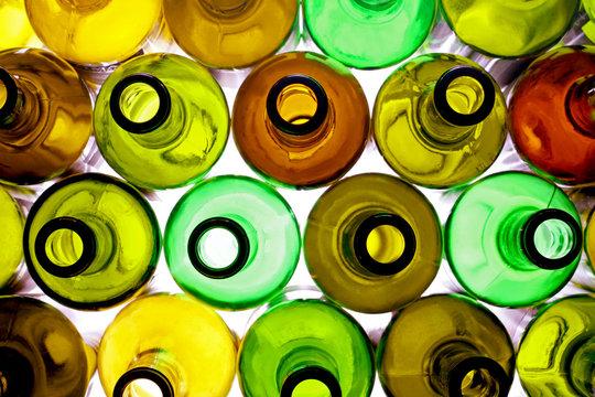 backlited bottles