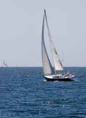Sailboat Cruising