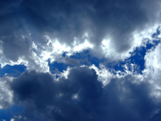 Fotobehang Aan het plafond sky background. sky and clouds background.