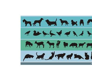 imagenes de animales en vector