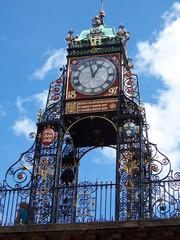 Fototapeta Old clock in Chester obraz