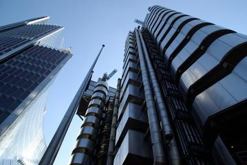 Fotobehang Aan het plafond Moderne Architektur in London