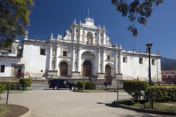 cathedral de san jose antigua guatemala central america