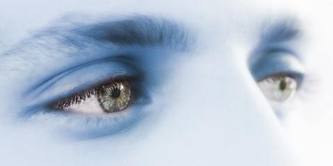 young man green eyes