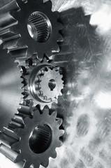 gear mechanism in sliver toning