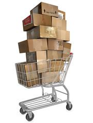 Shopping Cart Shipping Cartons
