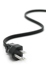 Power Plug - close up on power cord
