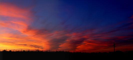 sunset panorama 02