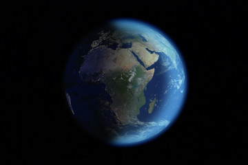 planète bleue