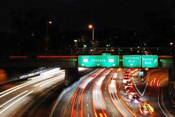 la night traffic II