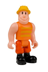 toy construction worker