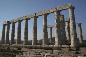 Vestige d'un Temple Grec