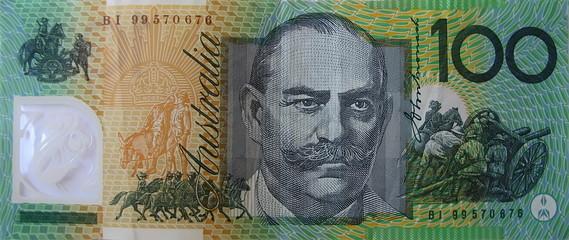 hundred Australia dollar