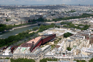 Looking Down on the Seine