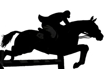 Horse & jockey