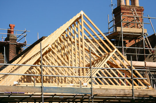Roof timber frame