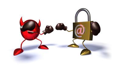 Virus contre internet