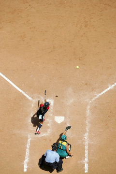 Softball home plate 01