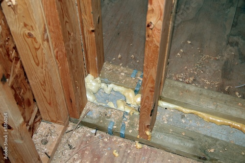 Common Wall Construction : Quot common wall construction detail stock photo and