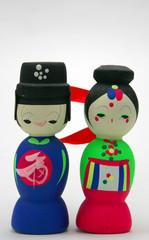 Traditional Korean Wedding Doll