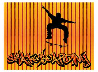 skateboarding background