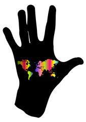 Il mondo in una mano