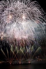 Sky Lit with Fireworks