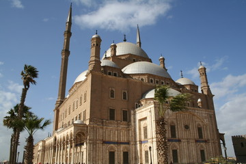 Mosque of Mohammed Ali at the Citadel,Cairo