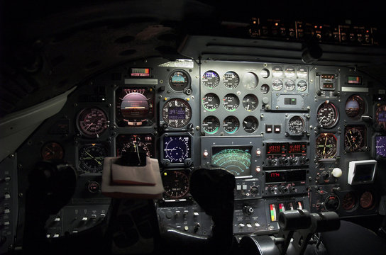 Captain's view at night