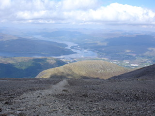 View from Ben Nevis
