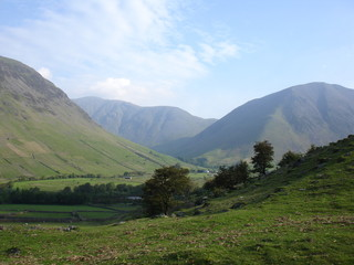 Base of Scafell Pike