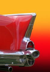 Retro Of Car Tail Lamp