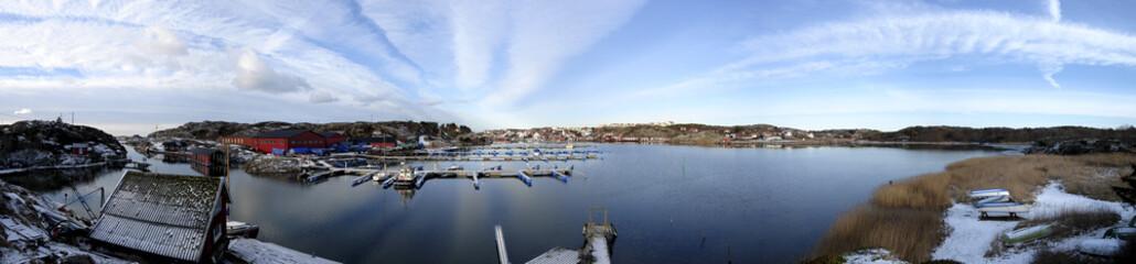 Grundsund Bay panorama