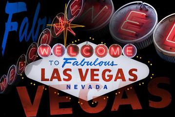 Garden Poster Las Vegas Welcome to Fabulous Las Vegas