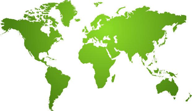 natural world map
