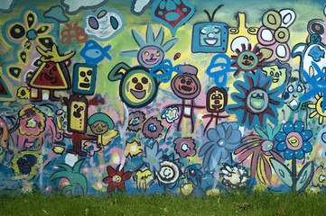 Graffitis visage