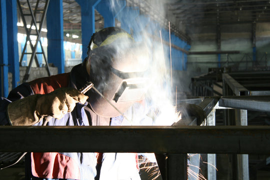 The electric welder