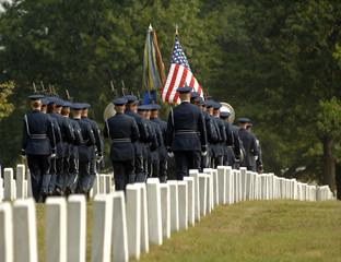 Foto auf Acrylglas Friedhof funeral at Arlington
