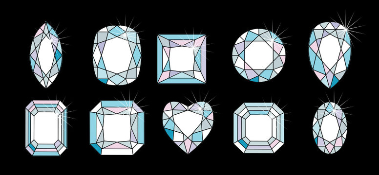 Diamond Cuts and shapes