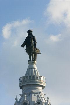 Philadelphia City Hall - Statue of William Penn