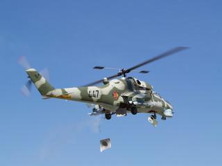 Mi-24 Modellhubschrauber
