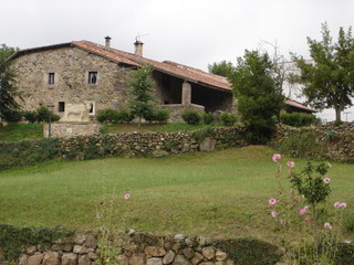 Ancienne ferme de Cantabrie (Espagne)