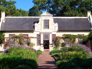 Staande foto Zuid Afrika South-Africa cape wine estate home