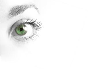 Pupila verde