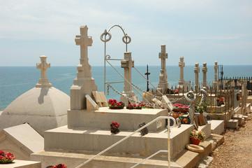 City graveyard in Sête, France