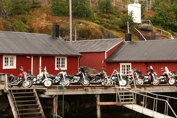 moto a Nusfjord